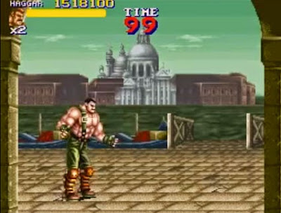 Final Fight 2: Haggar in Riva degli Schiavoni