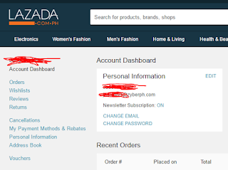 Lazada Vouchers Screenshot 1