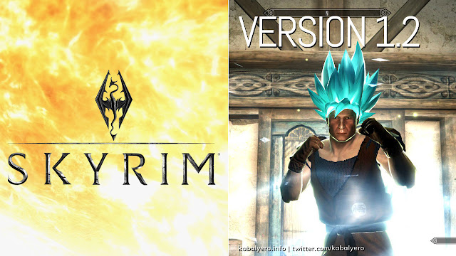 Dragon Ball Transformations! A Look At Version 1.2! [Modded Skyrim Gameplay 2020]