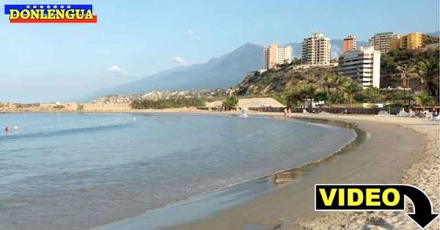 GRAVE | Playas de La Guaira permanecieron desiertas en Semana Santa