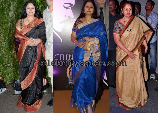 Jayasudha Colorful Silk Sarees