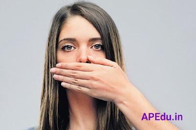 Bad breath? .. Stay away!
