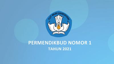 Permendikbud Nomor 1 Tahun 2021 tentang Juknis PPDB TK SD SMP SMA dan SMK 2021/2022