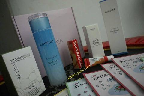 skincare, Cosmetic, review product, Mekap dari korea, Skincare yang diterbangkan terus dari korea