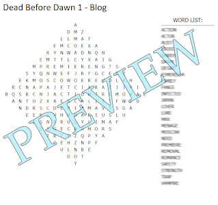 """Word search and blurred word list with """"Preview"""" over the top."""