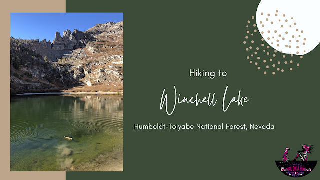Hiking to Winchell Lake, Nevada, Angel Lake Rec Area, Nevada
