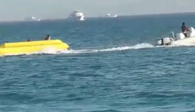 Banana boat terbalik di Mesir