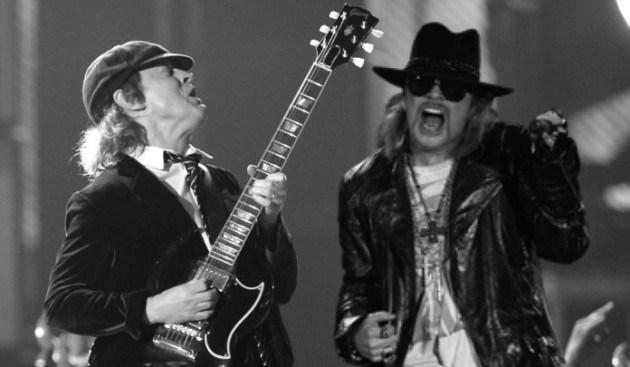 Un nuevo disco de AC/DC con Axl Rose sería casi un hecho