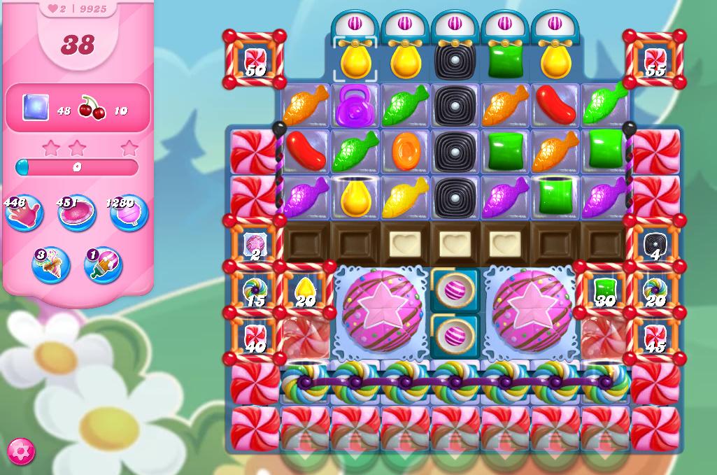 Candy Crush Saga level 9925