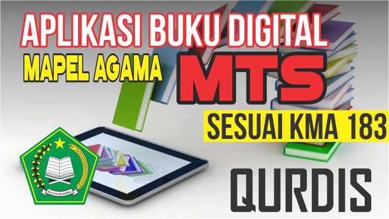 APLIKASI BUKU DIGITAL MTs MAPEL QURDIS SESUAI KMA 183