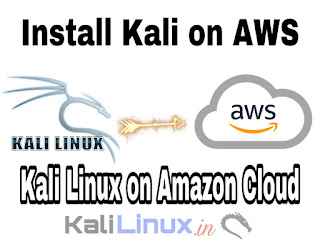 Installing Kali Linux on AWS (Amazon Web Services), Install Kali Linux on Cloud