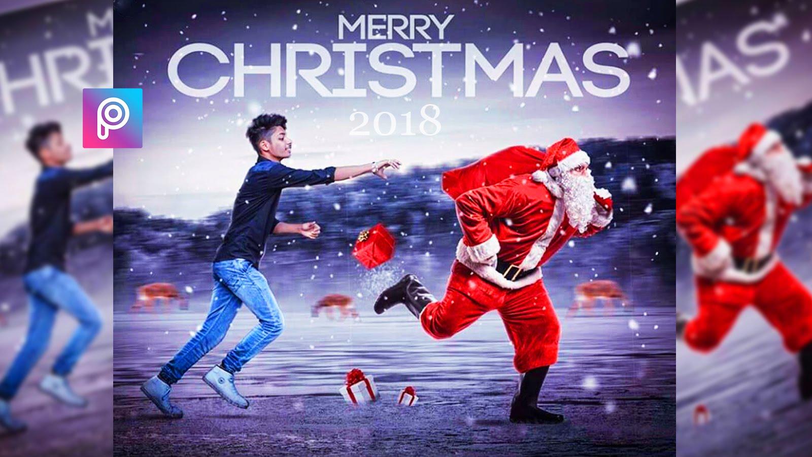 merry christmas new editing 20182018 merry christmas picsart editing new style