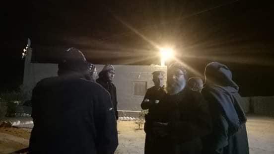بالصور .فاض الكيل من رهبان دير الانبا صموئيل ويلجأون لاجراء جديد ( في عز البرد ) بعد ماحدث لهم