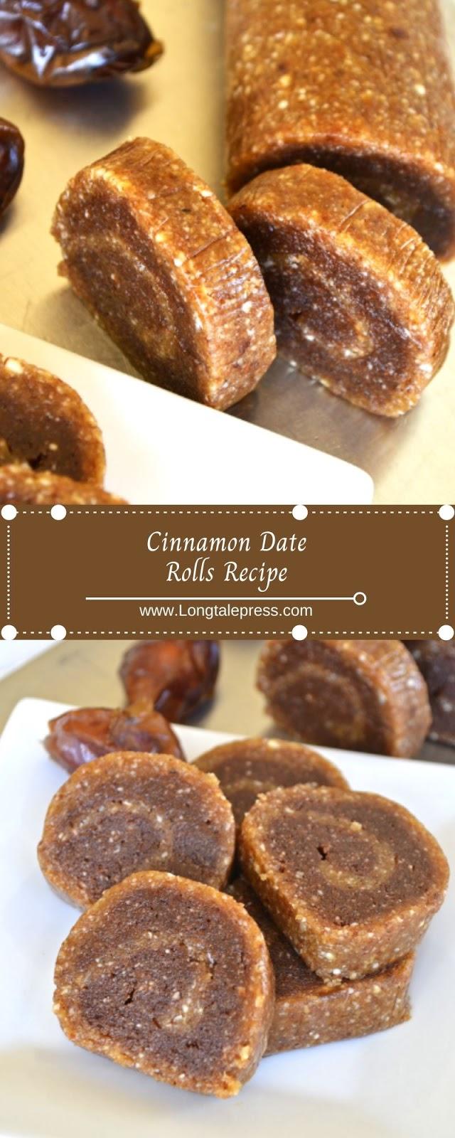 Cinnamon Date Rolls Recipe