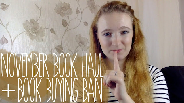 November book haul & book buying ban