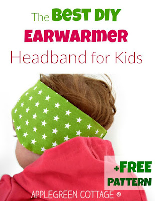 headband PDF sewing pattern in 3 sizes - free