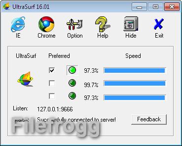 UltraSurf 16.01 Full Version