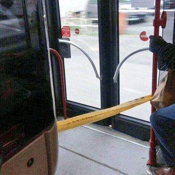 Una proposta per il distanziamento sociale sui bus