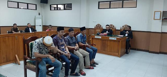 Kasus 10 Kg Sabu, 4 Terdakwa Dituntut 20 Tahun Penjara