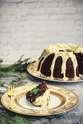 Italijanski čokoladni Božićni kolač (kuglof)