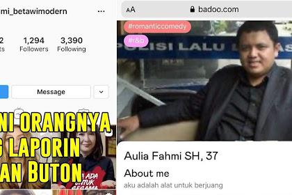 Opposite Bongkar Aulia Fahmi Pelapor Ruslan Buton, Cari Jodoh di Situs Kencan Bado