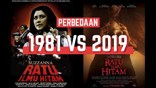 Perbedaan Film Ratu Ilmu Hitam tahun 2019 vs tahun 1981