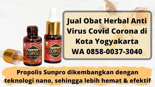 Jual Obat Herbal Anti Virus Covid Corona di Kota Yogyakarta WA 0858-0037-3040