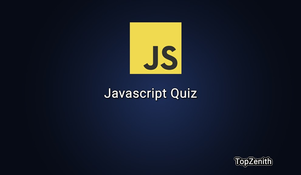 Javascript quiz with questions and answers