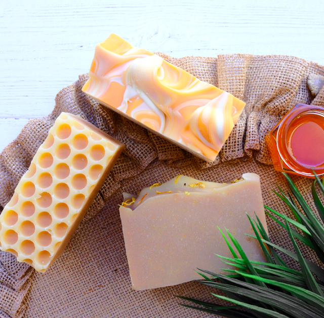 Orange Honey Blossom Artisan Soap by SoapCreek Company