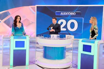 Patrícia, Silvio e Ligia (Crédito: Lourival Ribeiro/SBT)