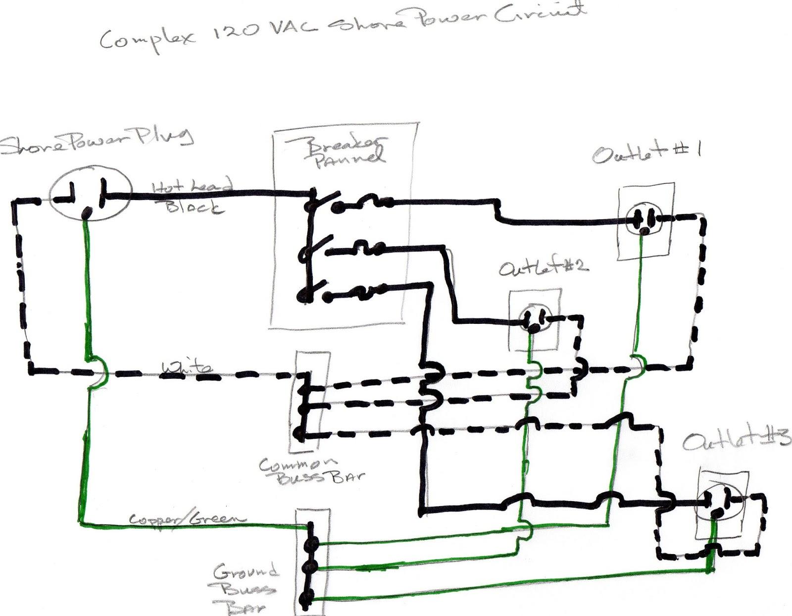 Shore Power Plug Wiring Diagram