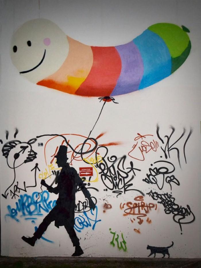 Kenny Random. Итальянский уличный художник 8