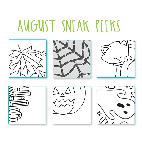August 2020 Sneak Peek | Newton's Nook Designs #newtonsnook