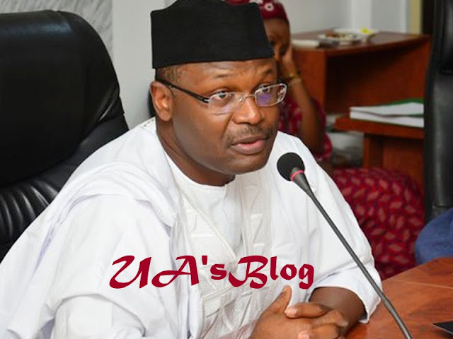 Buhari's lawyer shows video clip of INEC chairman talking about transmission of results