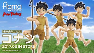 Mirai Shounen Conan in versione Figma dalla Max Factory
