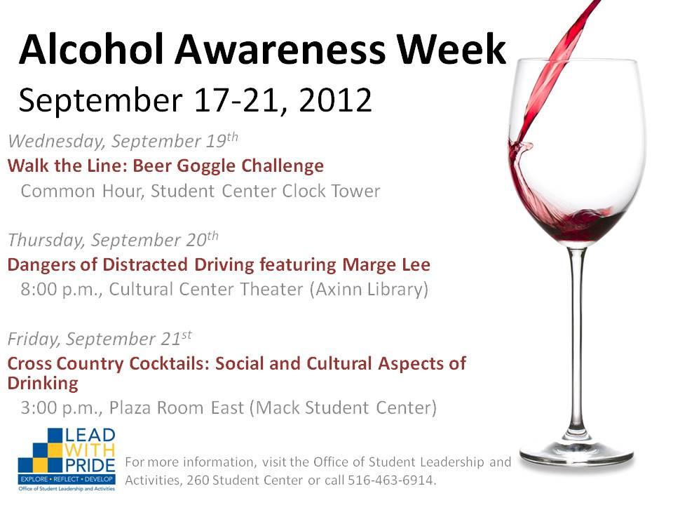 Hofstra Student Life: Alcohol Awareness