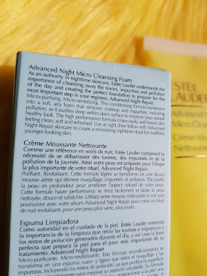 Estee Lauder Advanced Night Micro Cleansing Foam directions - www.modenmakeup.com
