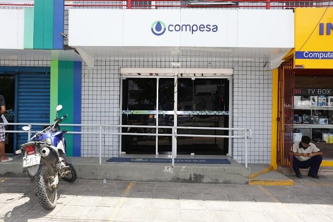 LOJAS DE ATENDIMENTO DA COMPESA NÃO FUNCIONAM NO FERIADO DA PROCLAMAÇÃO DA REPÚBLICA