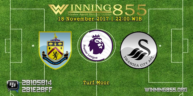 Prediksi Bola Burnley vs Swansea City 18 November 2017