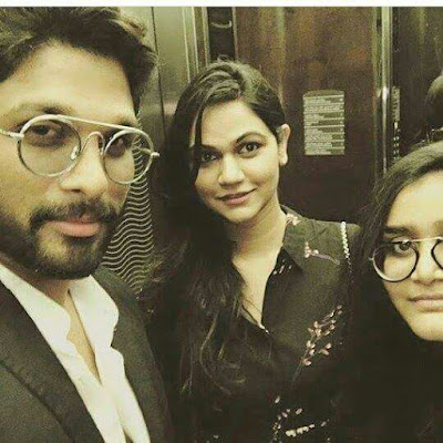 ALLU ARJUN dj sets with wife sneha reddy pics in Abudabi