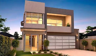 luxury 2-storey minimalist house - Lampung interior house