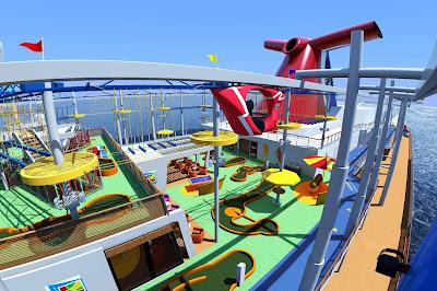 Carnival Cruises Carnival Vista - Skyride