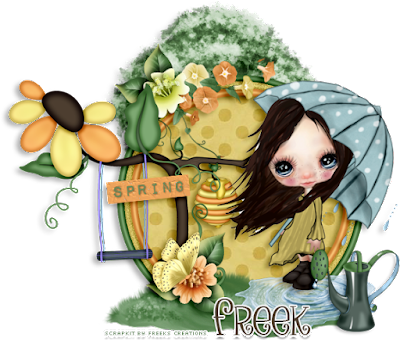 ★•★CT for Freeks Creations★•★ Whimsical Spring