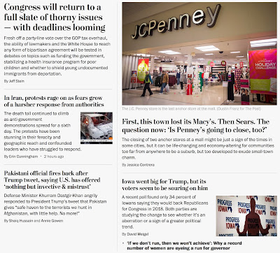 In WaPo s world, everything s dismal, including the loss of a depressing suburban shopping mall.