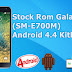 Stock Rom Oficial Galaxy E7 (SM-E700M) (Android 4.4.4)