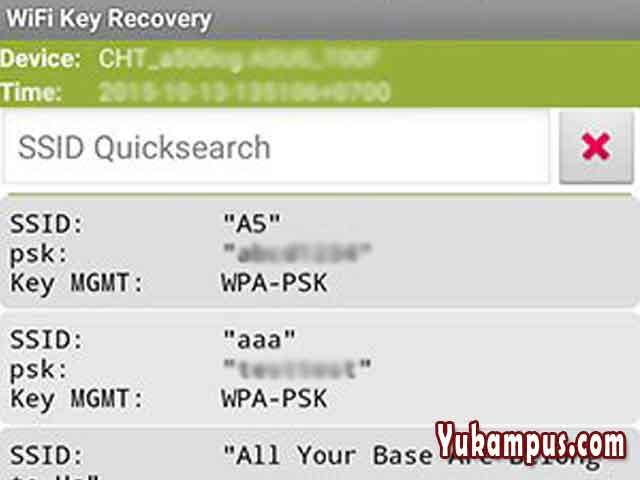 Cara Mengetahui Password Wifi di Hp Android - YuKampus