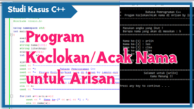 program koclokan arisan