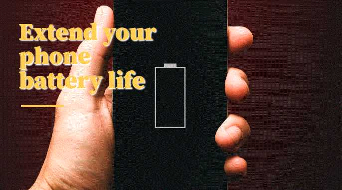 Extend your phone battery life