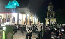 Pantau Prokes di masjid-Masjid, Polsek Nanga Pinoh gelar Patroli