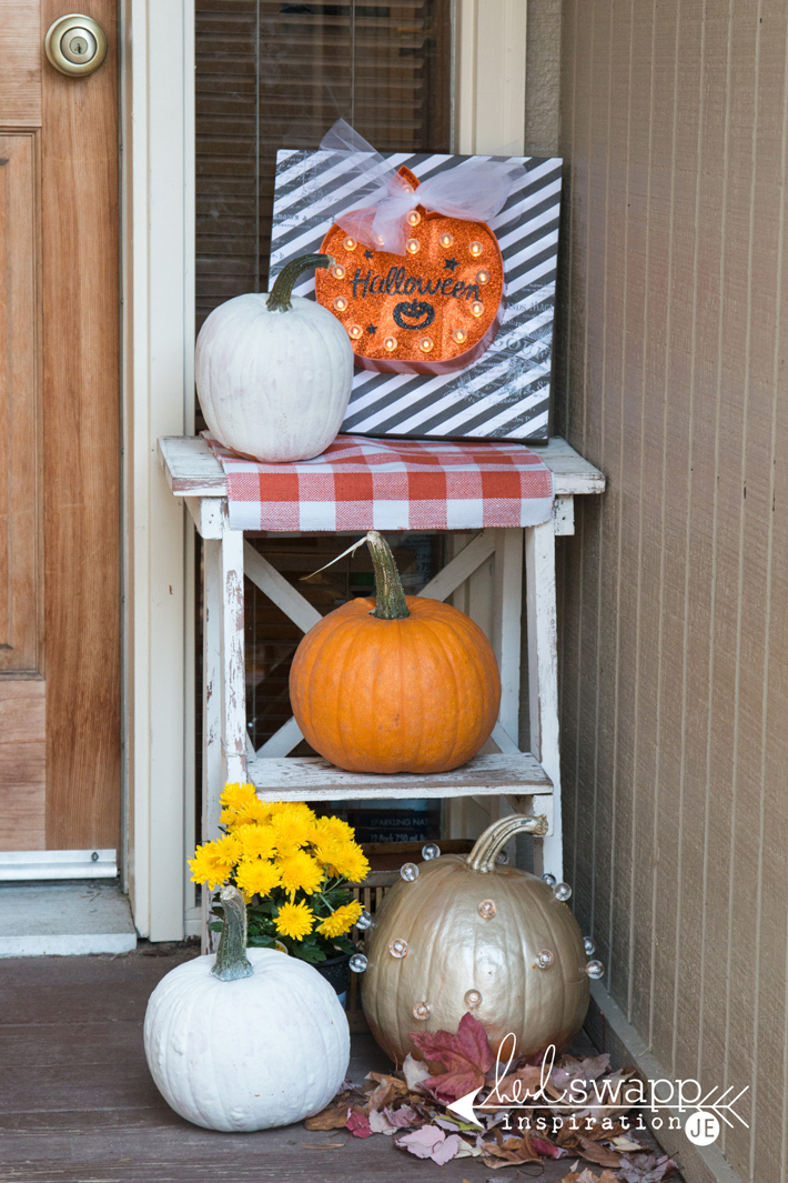 Fall Porch Marquee by @createoften for @heidiswapp